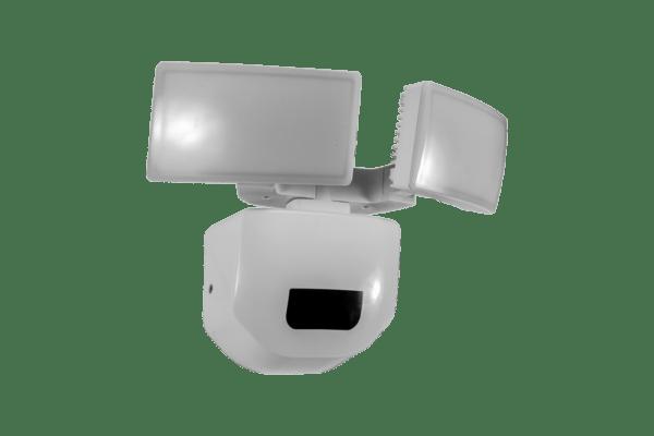 iluminación exterior. Luminario de seguridad